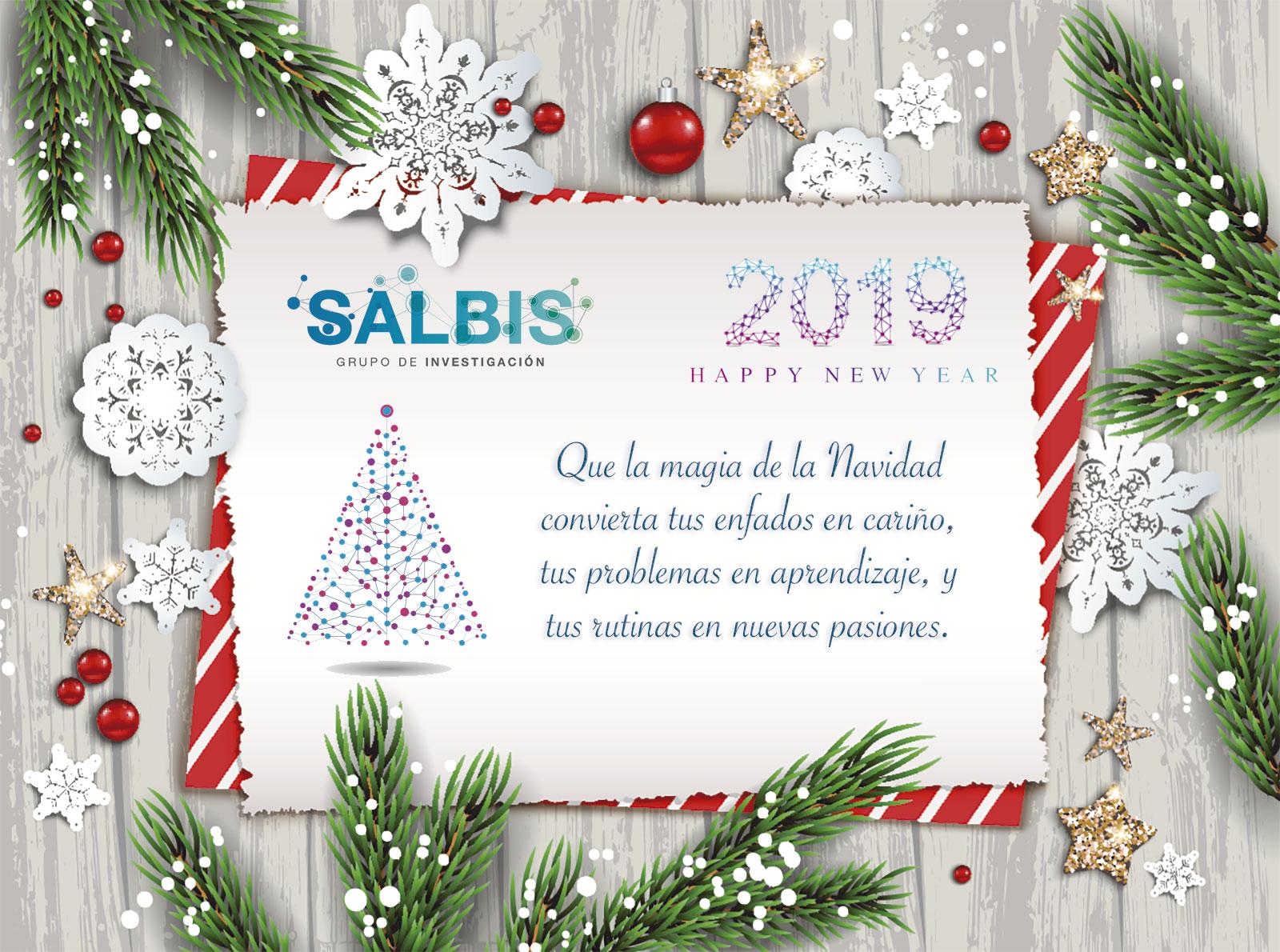 Imagenes De Navidad 2019.Desde Salbis Os Deseamos Feliz Navidad Y Un Feliz Ano 2019